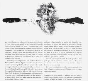 """Ilustración acompaña al texto """"Las dos Islas"""" de Javier Sagarna"""
