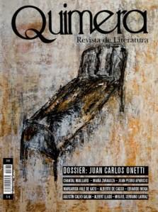 Portada del Nº 366 Mayo de 2014. Dossier dedicado a Onetti.